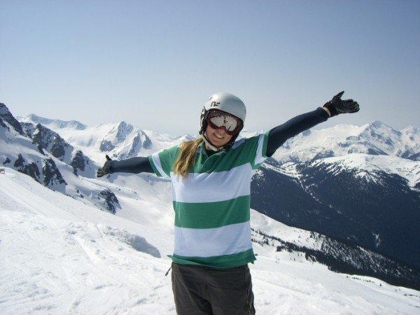 Still skiing!