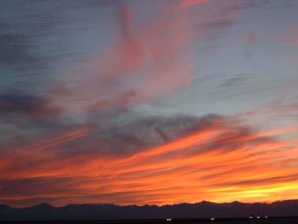 Sunset I -80