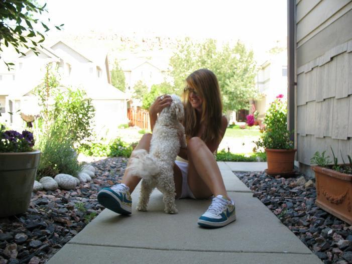 Me and ma dog