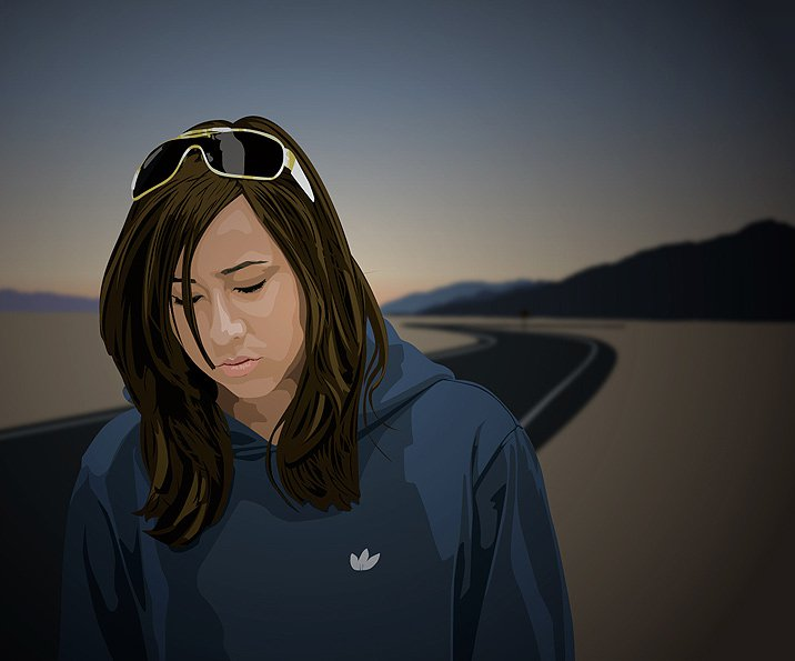 Vectorizational girl