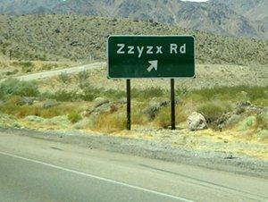 Strangest road name ever?