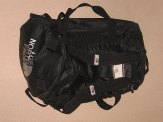 TNF 90L Duffle Bag