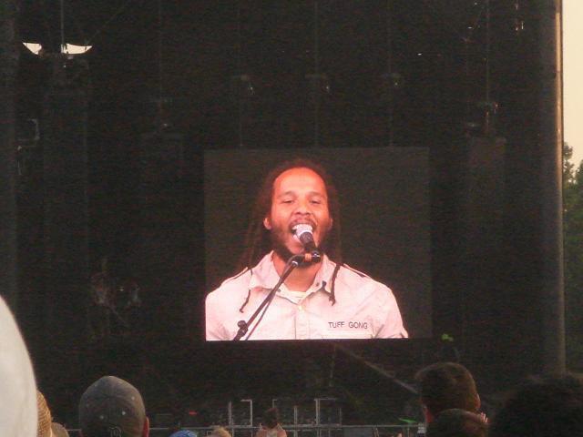 Ziggy Marley @ bonnaroo