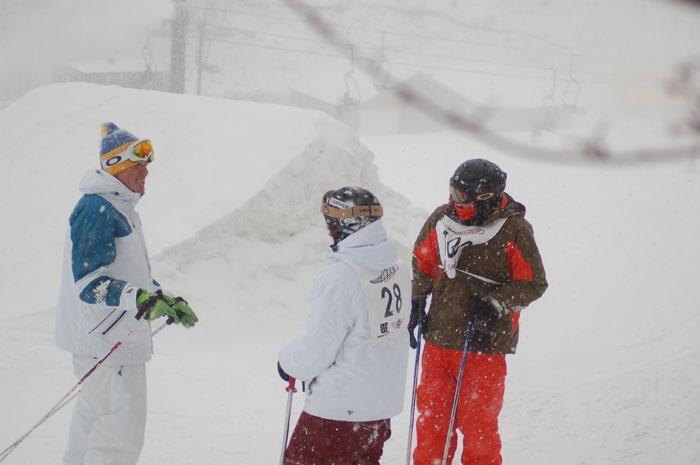 Snowy comp...sick oakley jackets