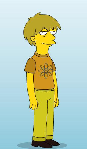 Me as a simpsons charactor