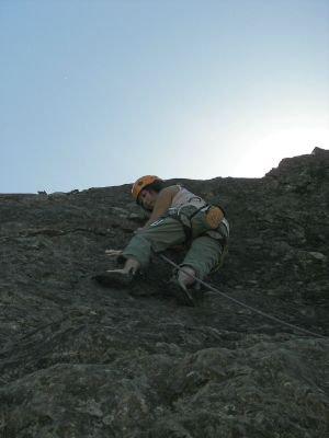 First Lead Climb