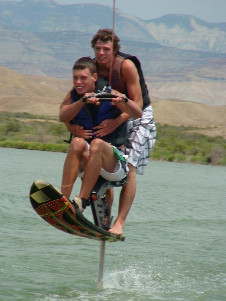 Me giving g ry a ride