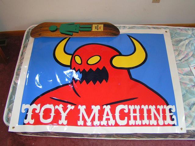 Toy maching banner fs