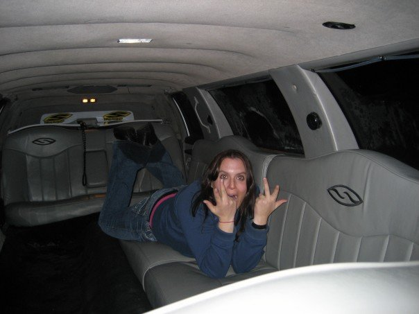 Quick trip in the smith limo...