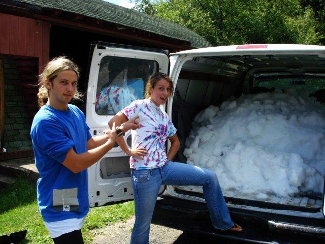 Van filled with heaven
