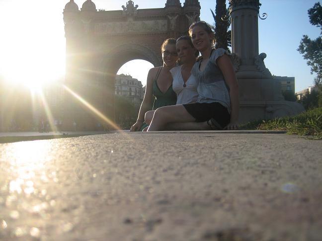 Alix moi et charlene barcelona 2007
