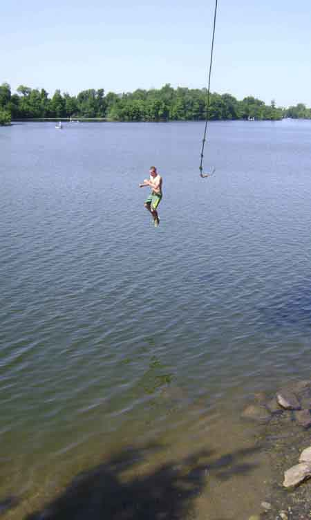 New rope swing