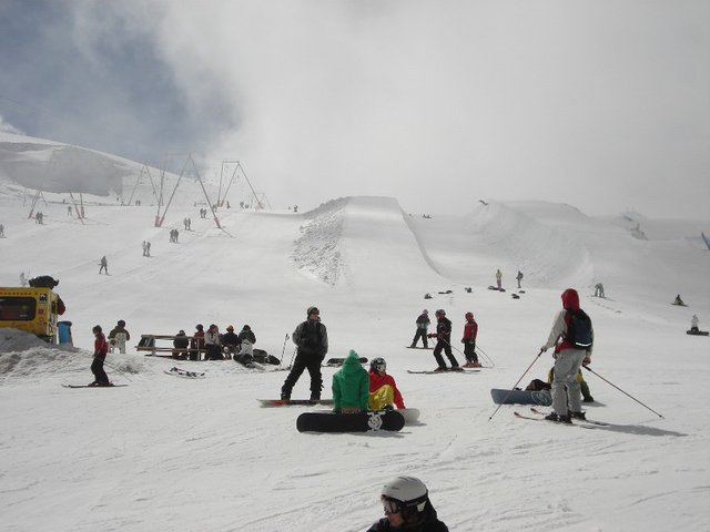 Half Pipe gravity park zermatt