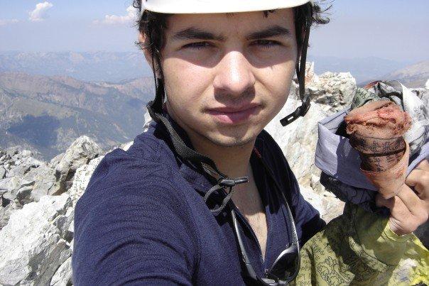 On the Summit of Capitol Peak