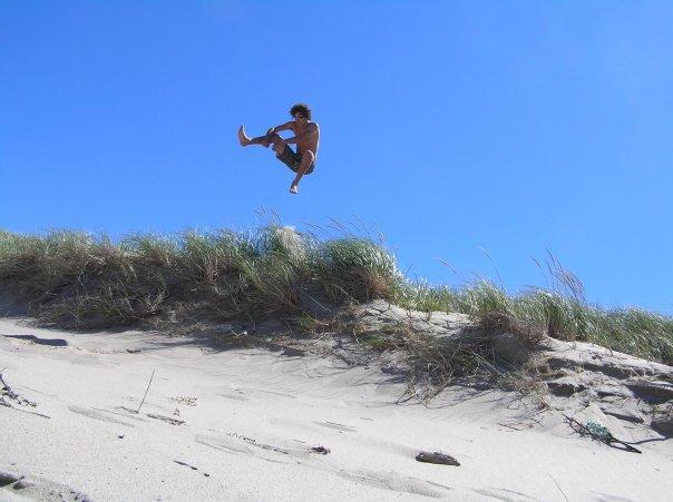 Causack on dunes