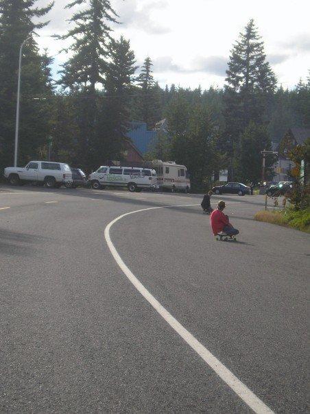 Longboarding in govy