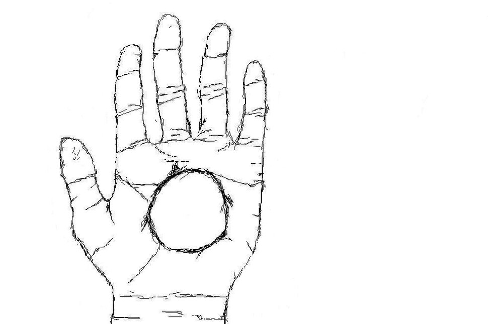 Hand w/ Tablet