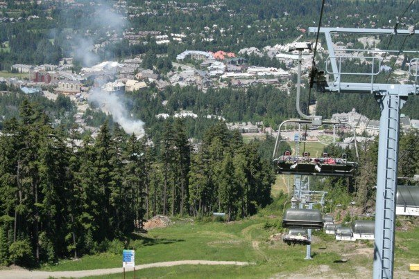 Whistler on Fire