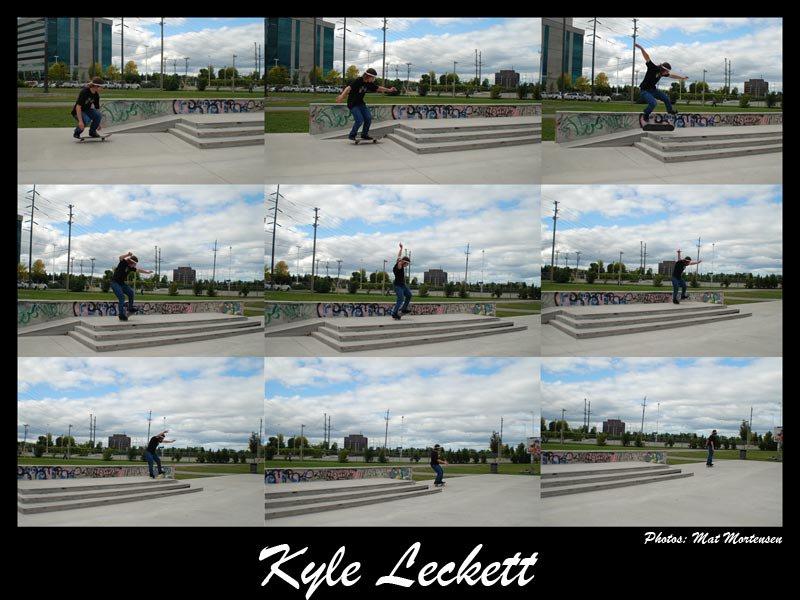 Kickflip Manual Sequence