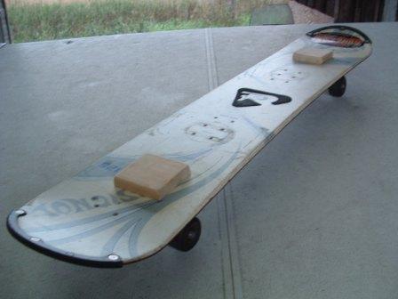 My new ghetto longboard
