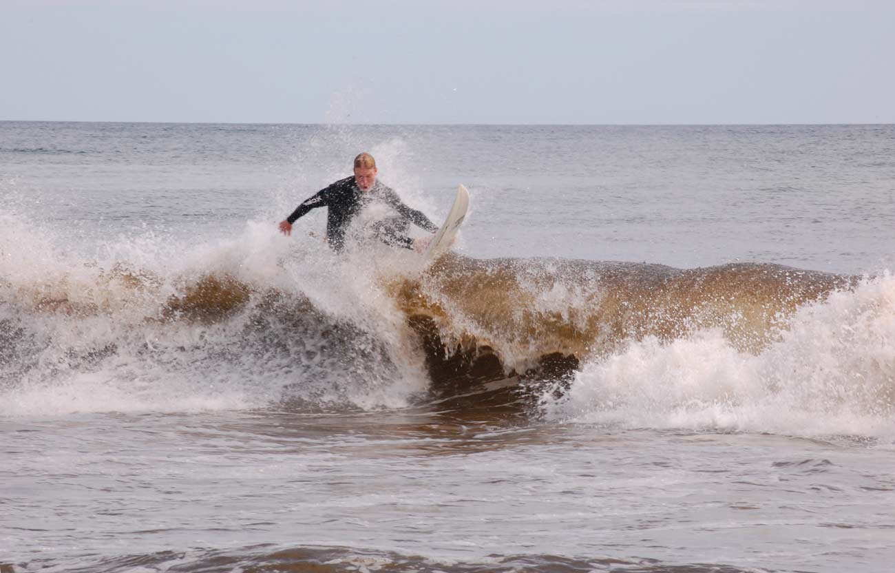Surfing at Cape Cod