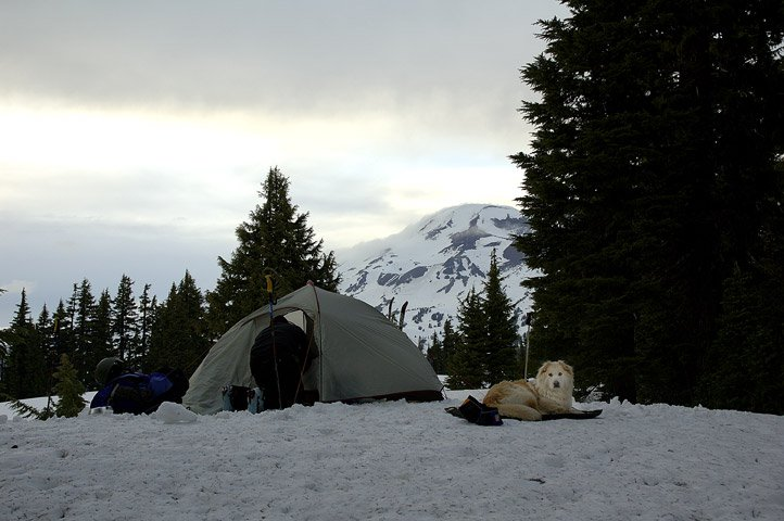Winter camping!