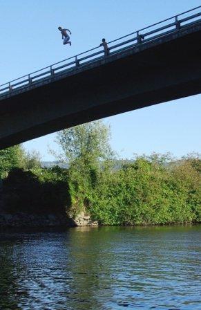 Bridge Jumping...