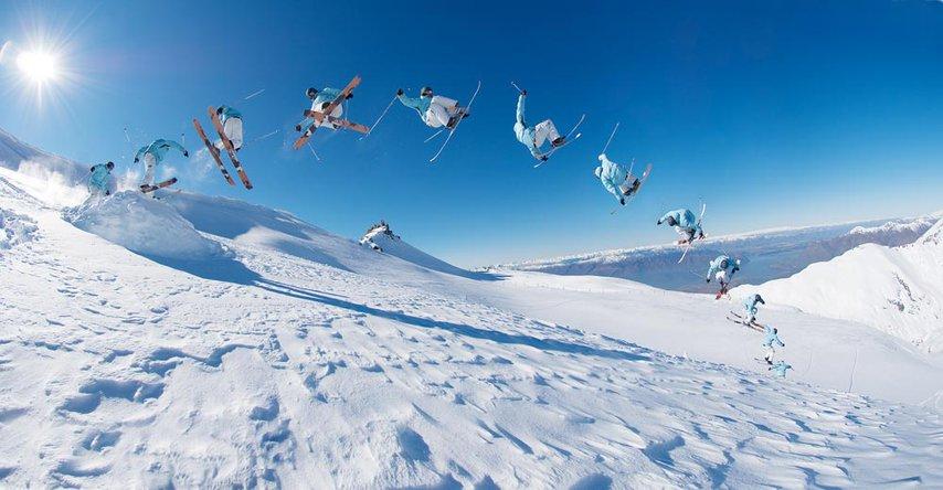 Sean Hartel skiing Treble Cone, New Zealand (reloaded)
