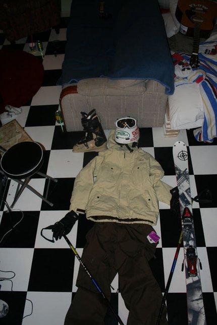 My setup, new skiis needed