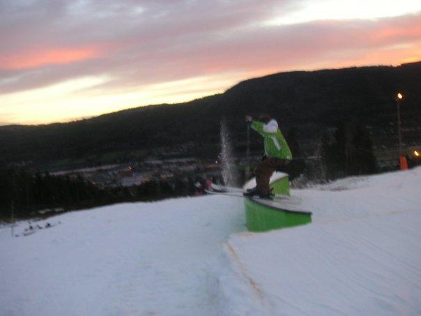 """Me on C-rail  on Aron Drammen"""" Norway"""""""
