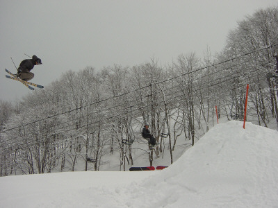 360 over 20 foot gap