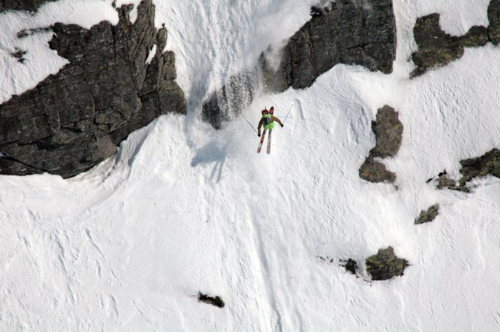 Flying some steepness in Norway