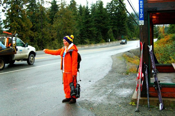 First hike to whistler peak