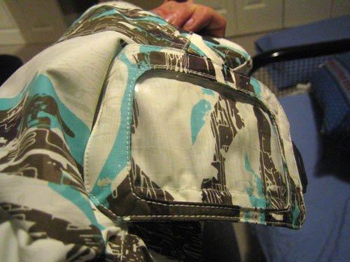 Cohesion Jacket - Detail, white tiger camo