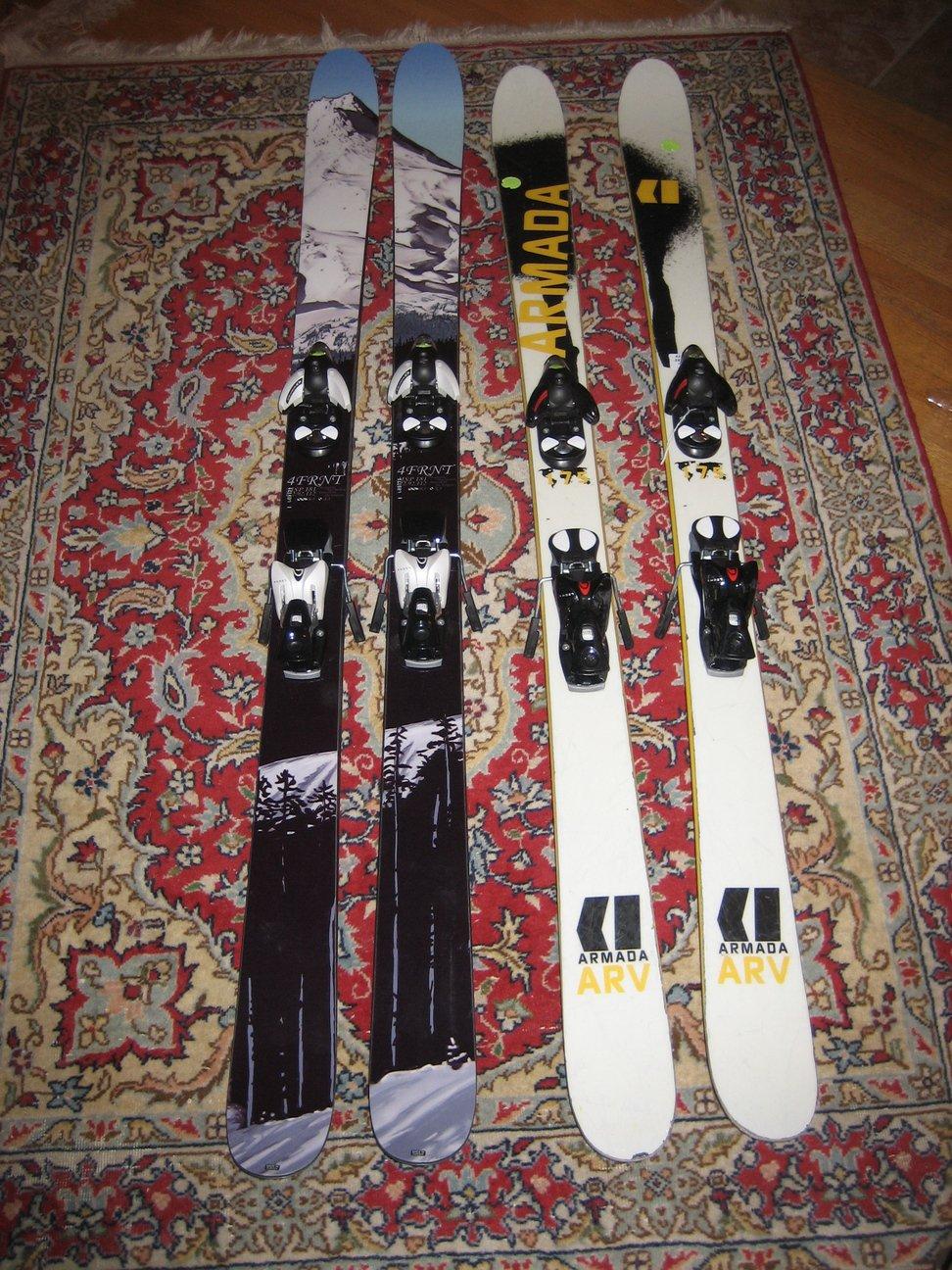 New vs. Old Skis