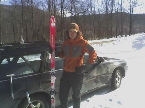 My SICK new skis