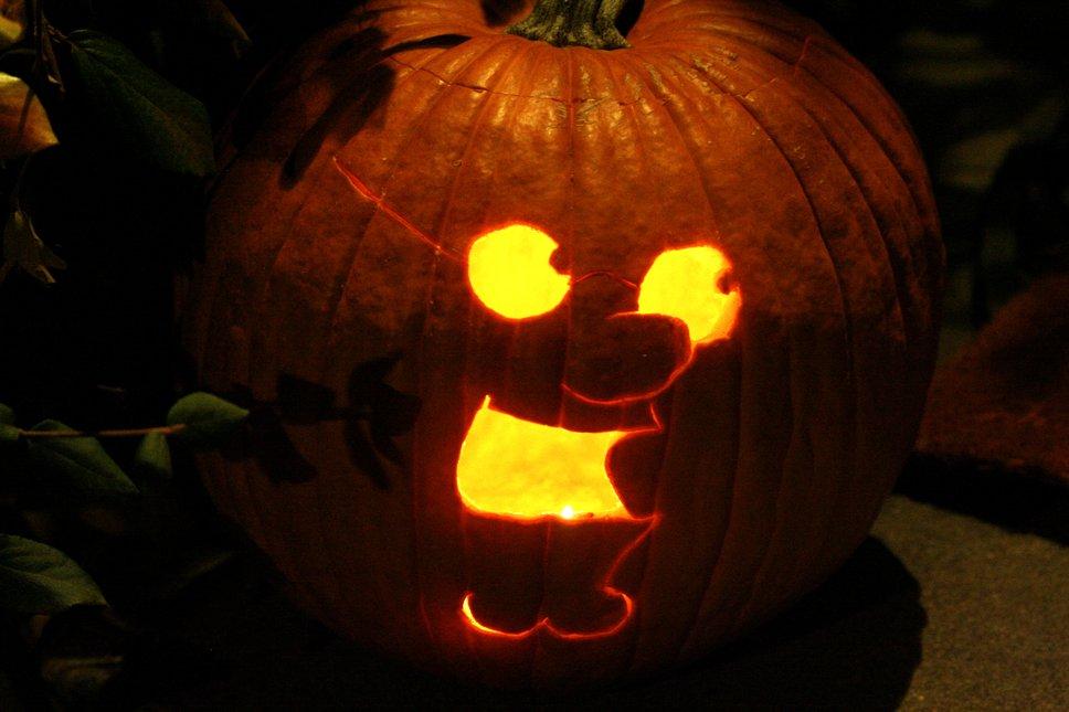 My freakin' sweet pumpkin