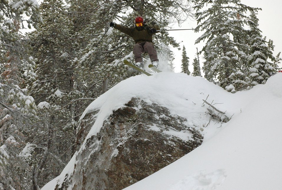 Me Droping into pow.