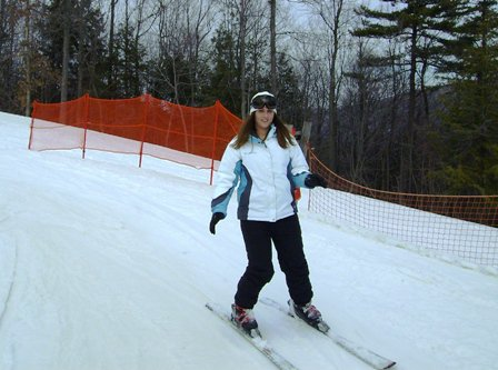 First Time Skiing....
