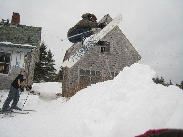Backyard hip
