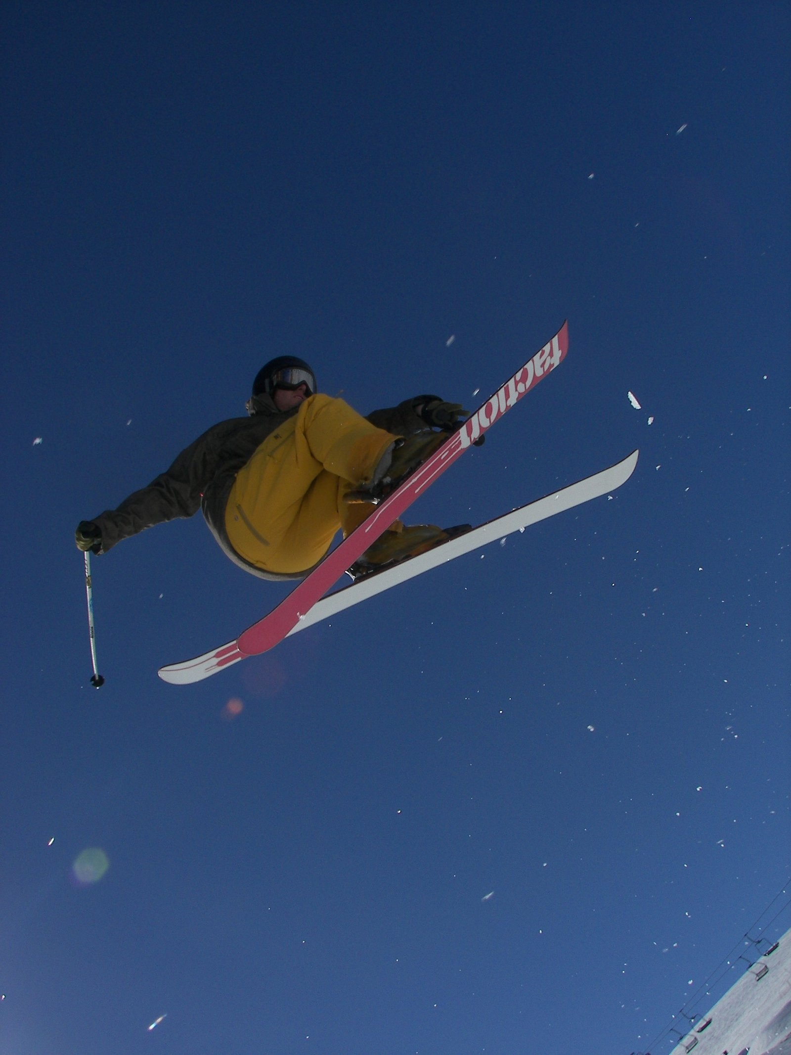 Ski jump! wow!