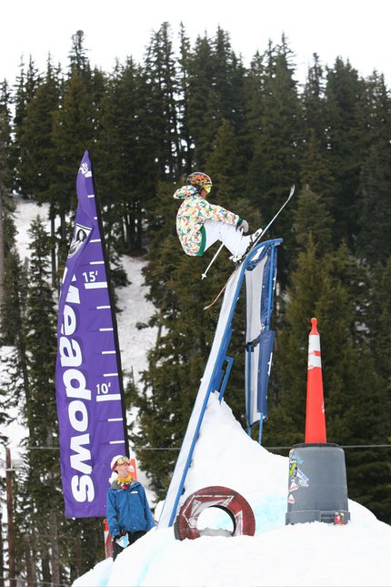 Sammy Carlson Hangin' out at Meadows