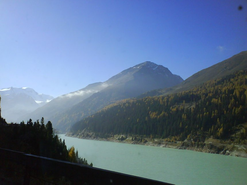 On the way up to Kaunertal Glacier