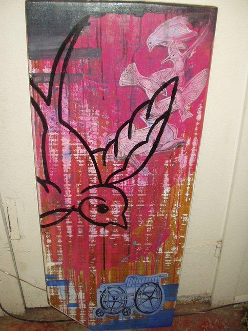 Birds i painted long ago.