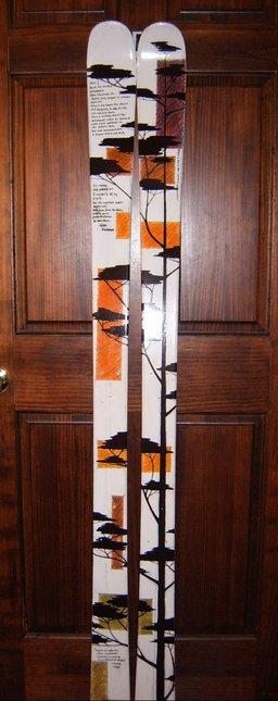 Final ski design