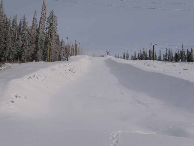 Big White Halfpipe