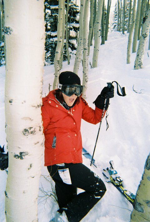 First day on skis, not so long ago