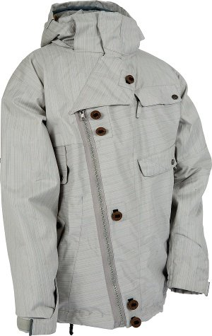 686 Smarty Strap Jacket (Light Grey)