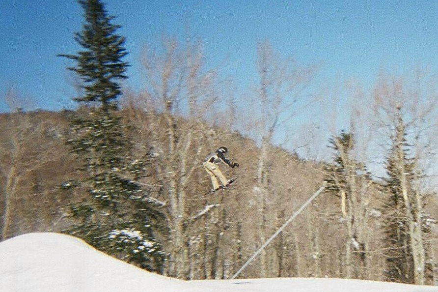 Me hittin a jump at Killington