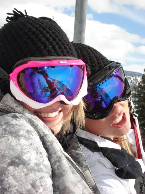 Me and my sister in Aspen